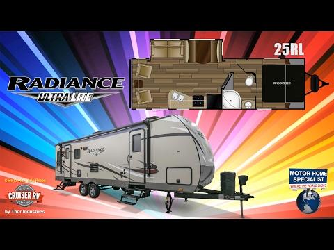CRUISER RV Radiance Ultralite Travel Trailer RVs for Sale at MHSRV.com - 25RL