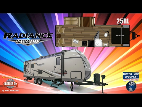 CRUISER RV Radiance Ultralite Travel Trailer RVs for Sale at MHSRV.com – 25RL