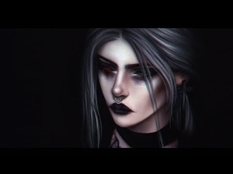 Sims 4 Обработка скриншота  (Photoshop)