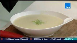مطبخ 10/10 - الشيف أيمن عفيفي - الشيف وليد النجم - طريقة عمل شوربة البطاطس بالكريمة