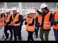 VÍDEO/Visita a la nueva planta de Logisfashion en el Polígono