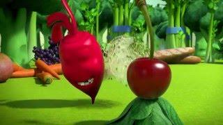 Прикольный мультик «Овощная вечеринка» - Вишенка (18 серия)
