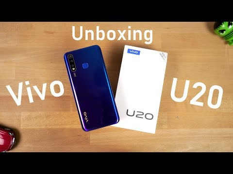 Vivo U20 Unboxing, Specs, Price, Hands-on Review