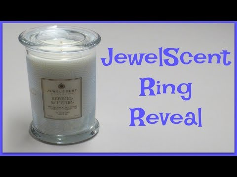 JewelScent Ring Reveal - Berries & Herbs Candle!
