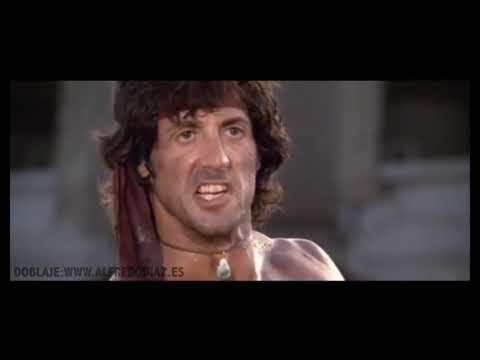 Rambo en plan desobediente