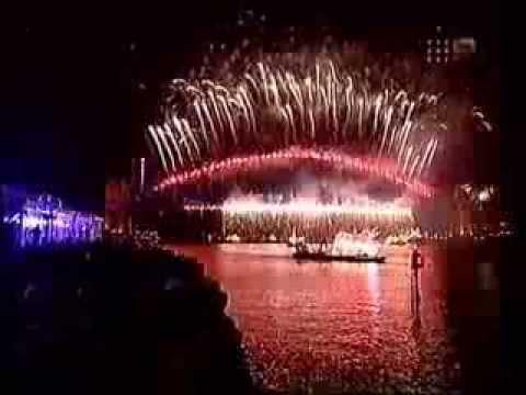 Sydney New Year's Eve 1999/2000 Midnight Fireworks (Highlights)