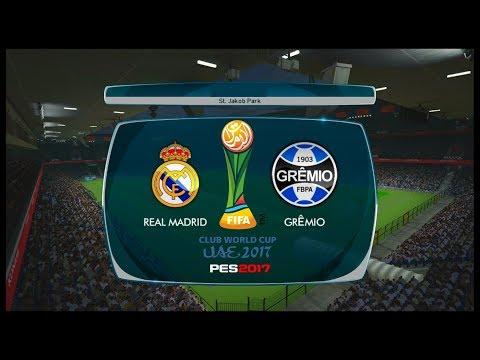 Real Madrid x Grêmio ↱[ Final do Mundial de Clubes ]↰ PES 2017