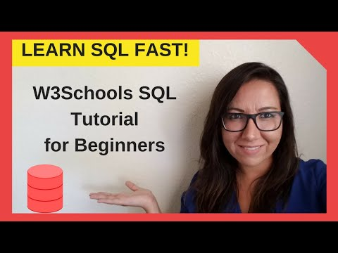 Learn SQL Fast - W3schools SQL Tutorial for Beginners
