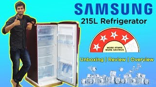 Samsung 215L Direct-Cool Single-Door Refrigerator | Unboxing | Review  | Dekh Review (Hindi/Urdu)