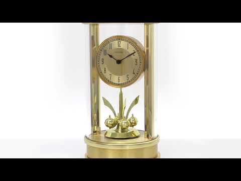 Bulova B8820 Isabel Pendulum Table Clock