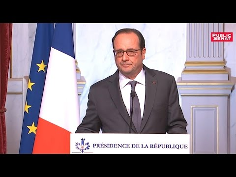 VIDEO - Élection de Donald Trump : Discours de François Hollande