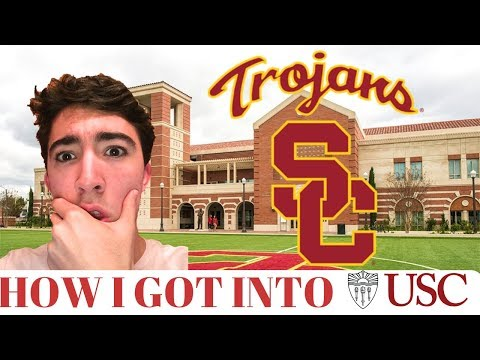 HOW I GOT INTO USC | STATS, SCORES, APPLICATION, AND MORE!