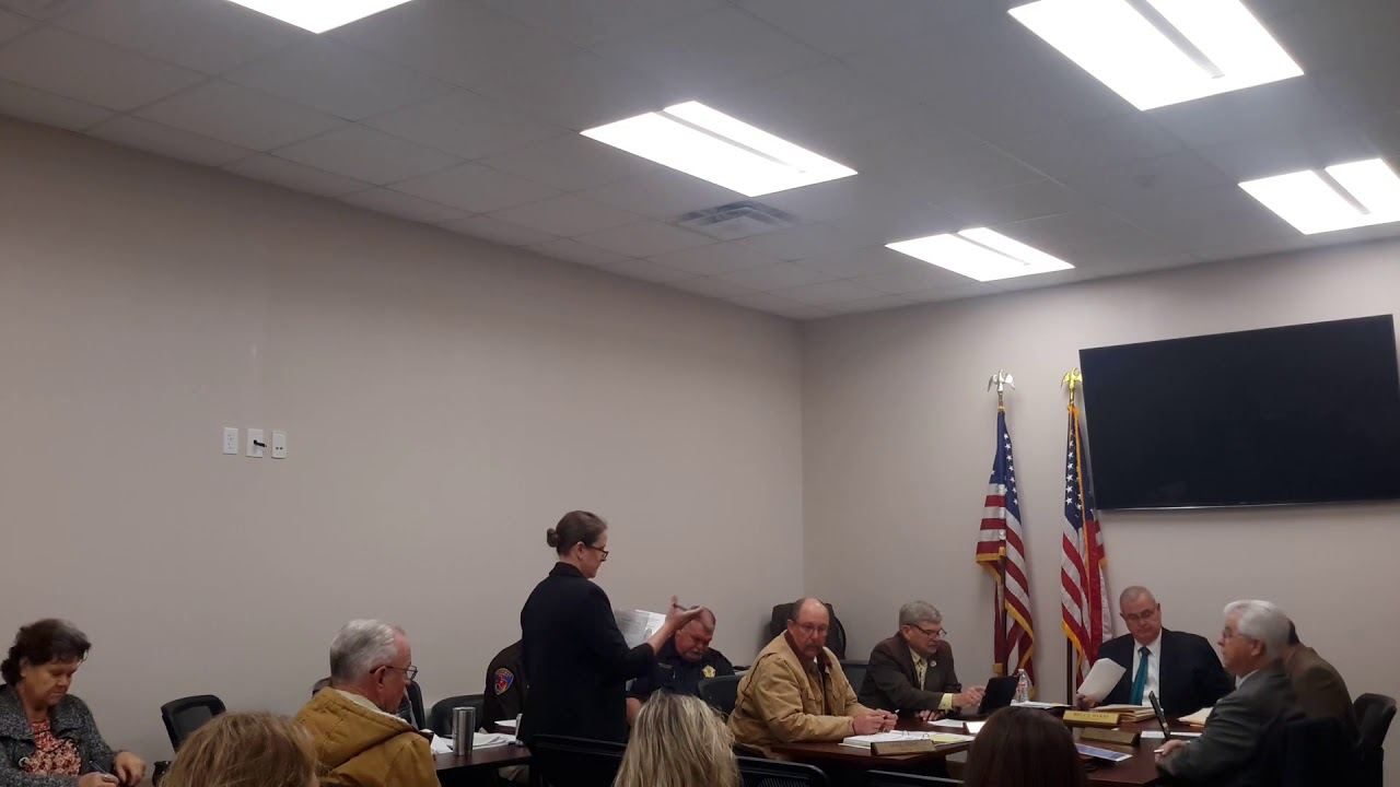 Kaufman County Commissioners Court February 7, 2018