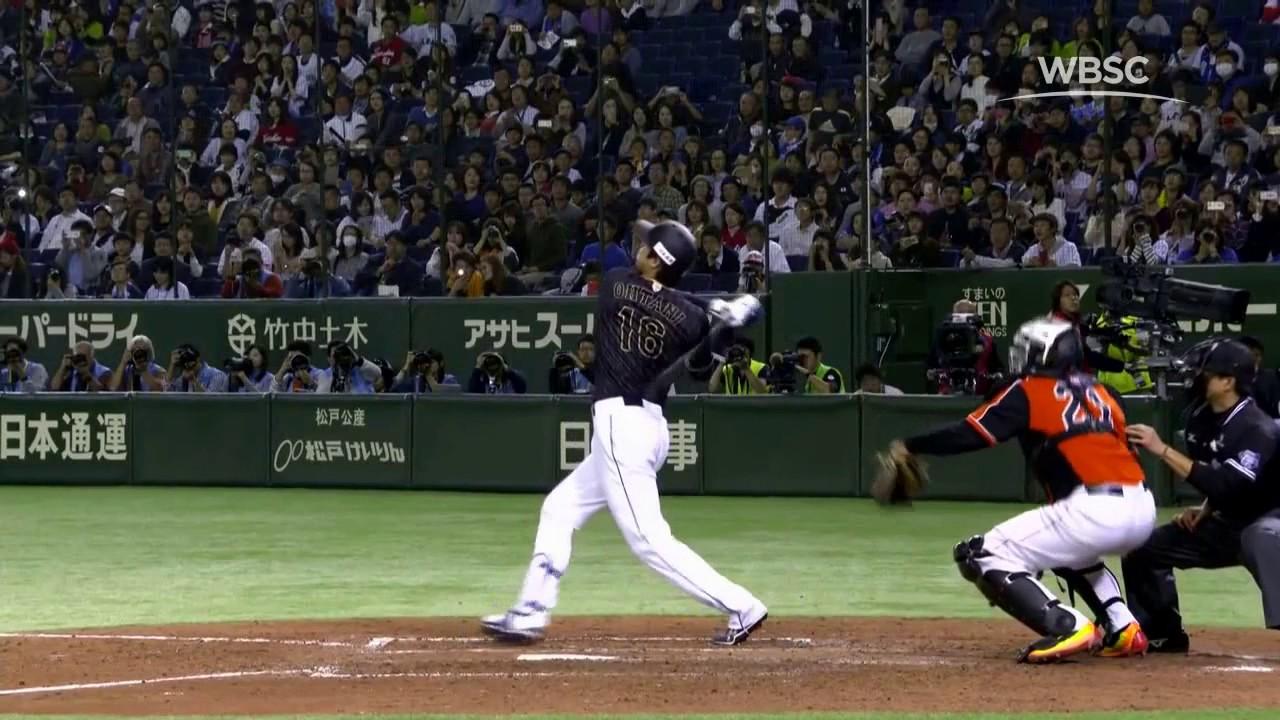 Shohei Ohtani Hits Ball Through The Roof At Tokyo Dome