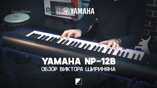 обзор синтезатора YAMAHA NP-12B