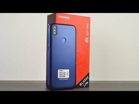 Doogee Bl5500 Lite - невероятно красивый бюджетный смартфон с 4G!