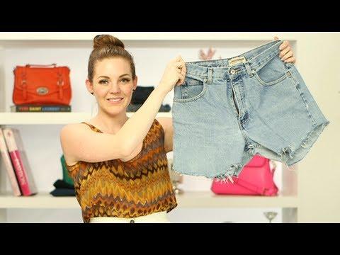 DIY Fashion: How to Make the Perfect Denim Cutoff Shorts ...