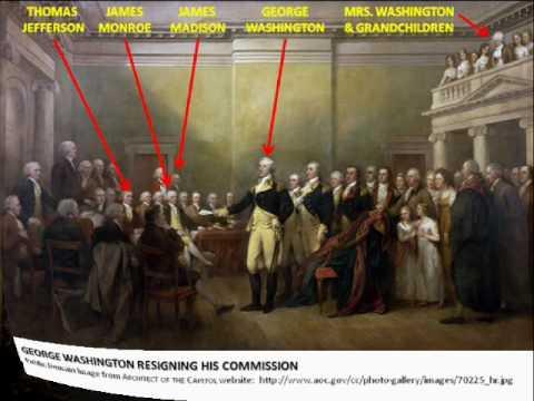 Capitol Rotunda Paintings