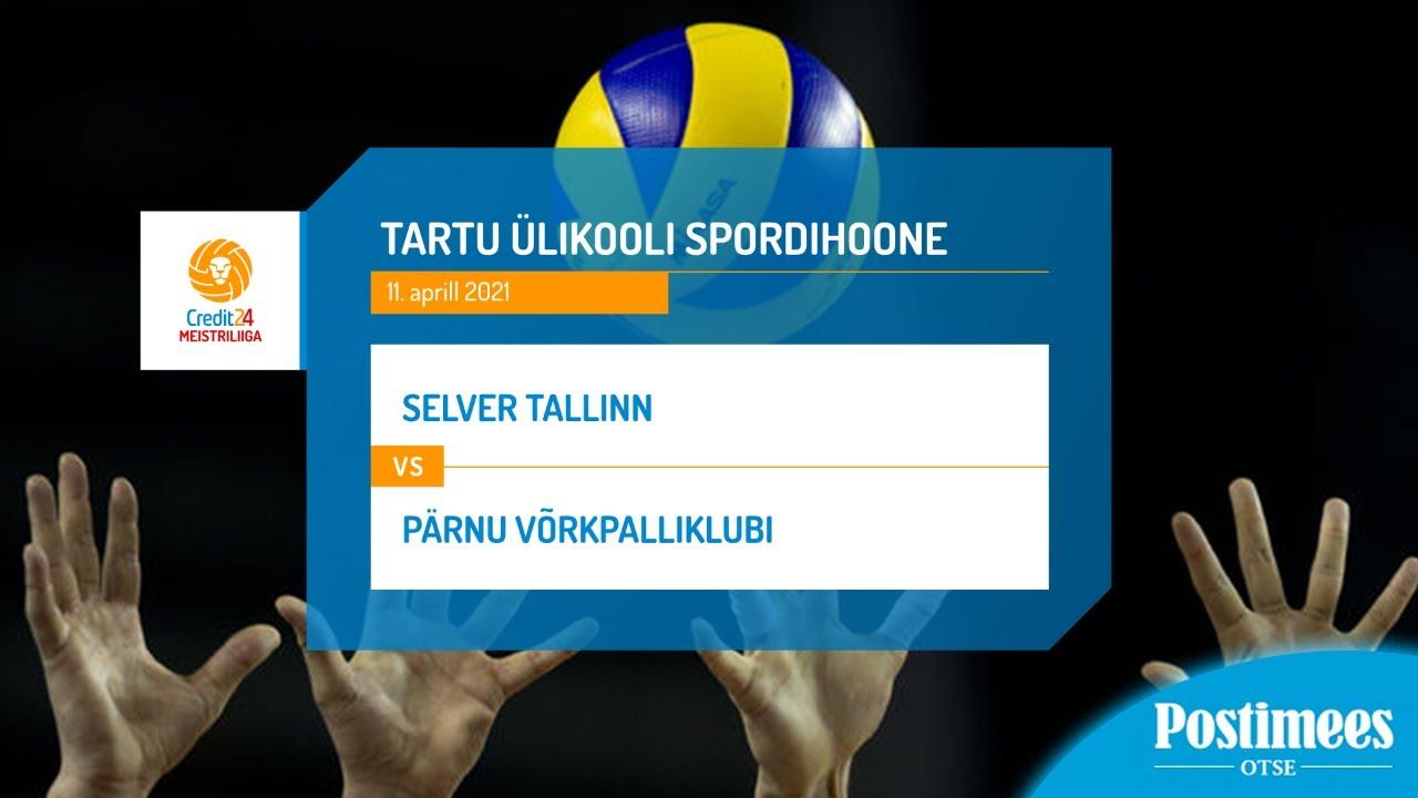BIGBANK Tartu vs Pärnu Võrkpalliklubi - Credit24 Meistriliiga, 4.11.2020