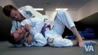 Marine Veteran uses Brazilian jiu-jitsu and VA for recovery