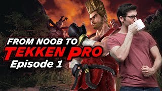 Can a Noob Fake It as a Tekken Pro? Episode 1: Training Begins