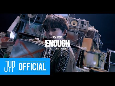 "BOY STORY ""Enough"" Teaser 6 – SHUYANG"