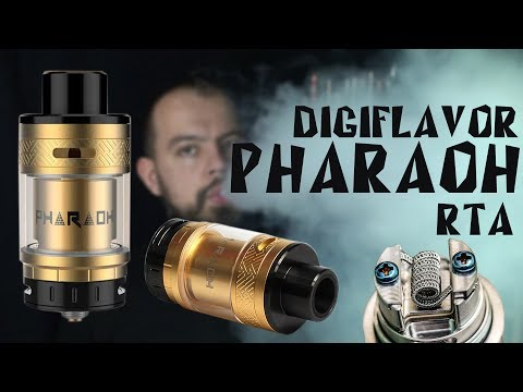 Pharaoh RTA 25mm By Digiflavor | АВТОНОМНЫЙ БАК ДЛЯ НАВАЛА