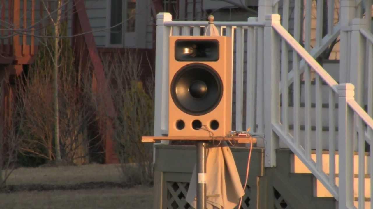 Sentinel DIY Speaker Design (short edit) - YouTube