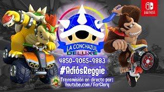 Torneo online LA CONCHAZUL Deluxe: #AdiósReggie | Mario Kart 8 Deluxe (Switch)