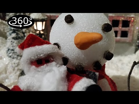 Snowman Vision: A 360° Stikbot Christmas