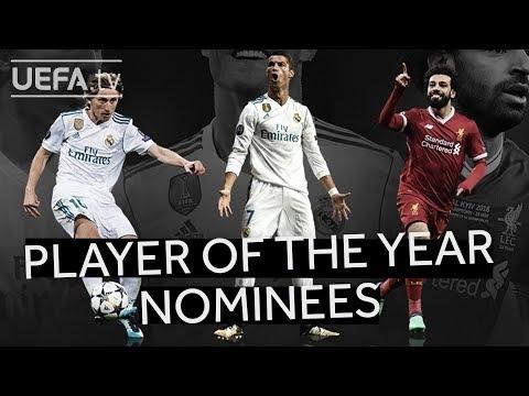 MODRIĆ, RONALDO, SALAH: UEFA Men's Player of the Year Shortlist