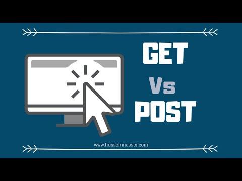 HTTP GET Vs. POST Tutorial
