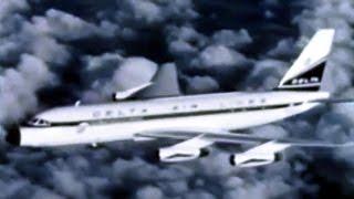 Delta Convair CV-880 Promo Film - 1960