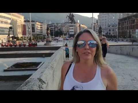 Vamos Além - Escopia capital da Macedônia