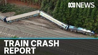 XPT passenger train was doing 100kph in 15kph zone before fatal crash, says report   ABC News