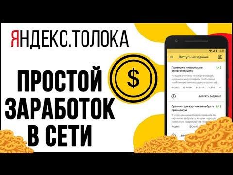 Урок 1 | Общая информация о Яндекс.Толоке | #заработок