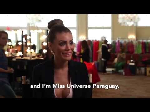 Paraguay - Sally Jara Davalos [OFFICIAL MISS UNIVERSE INTERVIEW]