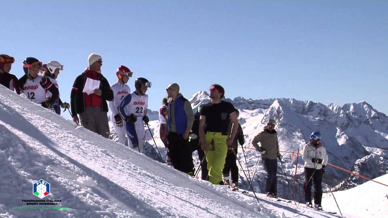 Selezione pinocchio sugli sci categoria allievi, foppolo 19 marzo 2016