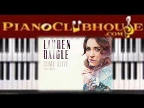 🎹  COME ALIVE (Dry Bones) - Lauren Daigle (easy piano tutorial lesson)