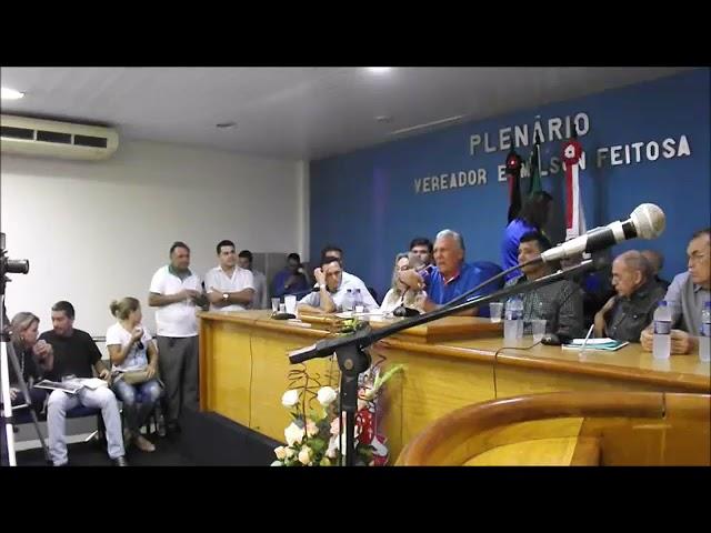 Arquivo Alto Sertão: Entrevista Coletiva do prefeito eleito de Cajazeiras, Zé Aldemir