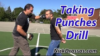 Taking Punches Drill By MOOSE 66 350LBS - MUST WATCH