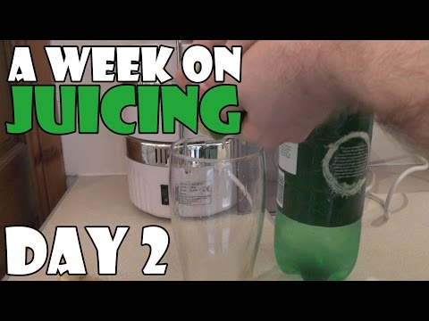 A Week On Juicing Day 2