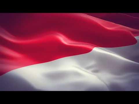 Animasi Bendera Indonesia Berkibar Hd Youtube