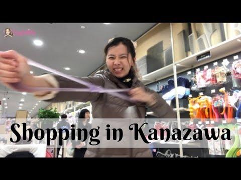 KANAZAWA || EP 6 || Shopping in Katamachi Shopping District & Bus Station Basement