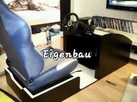 Playseat Gaming Wheel Eigenbau Youtube