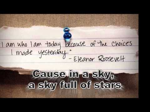 Coldplay-A Sky Full Of Stars With Lirik