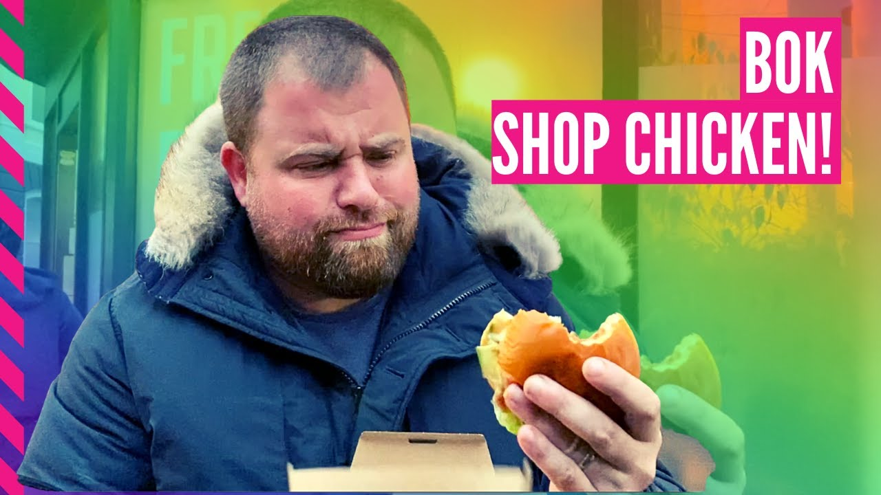 BRIGHTON OUTRAGEOUS CHICKEN SHOP REVIEW!