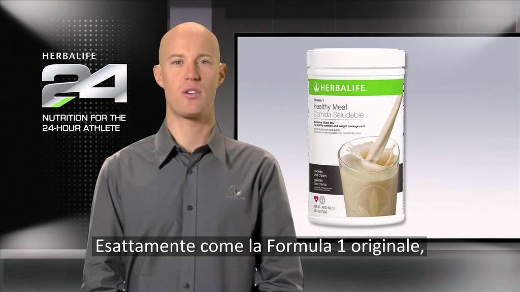 18 g di proteine lo sviluppo della massa magra H24 HERBALIFE Formula1 PRO...