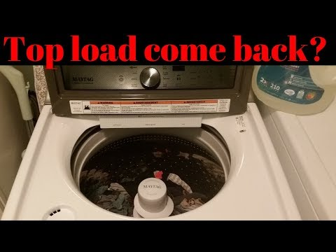 Maytag top load Washing Machine review