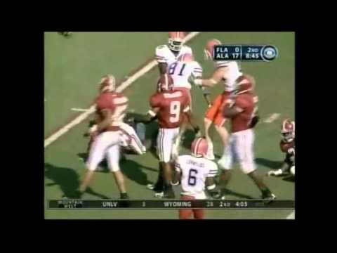 2005 #5 Florida vs. #15 Alabama Highlights